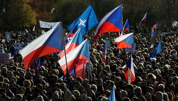 Demonstrace spolku Milion chvilek na Letné 16. listopadu - Sputnik Česká republika