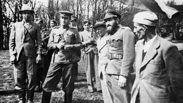 Velitelství 2. československé brigády M. R. Štefánika - Sputnik Česká republika