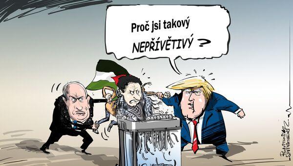 USA označily izraelské osady za legitimní - Sputnik Česká republika