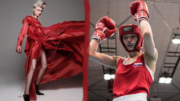 Nejkrásnější boxerka prozradila, jaký má vztah k ruským sportovcům - Sputnik Česká republika
