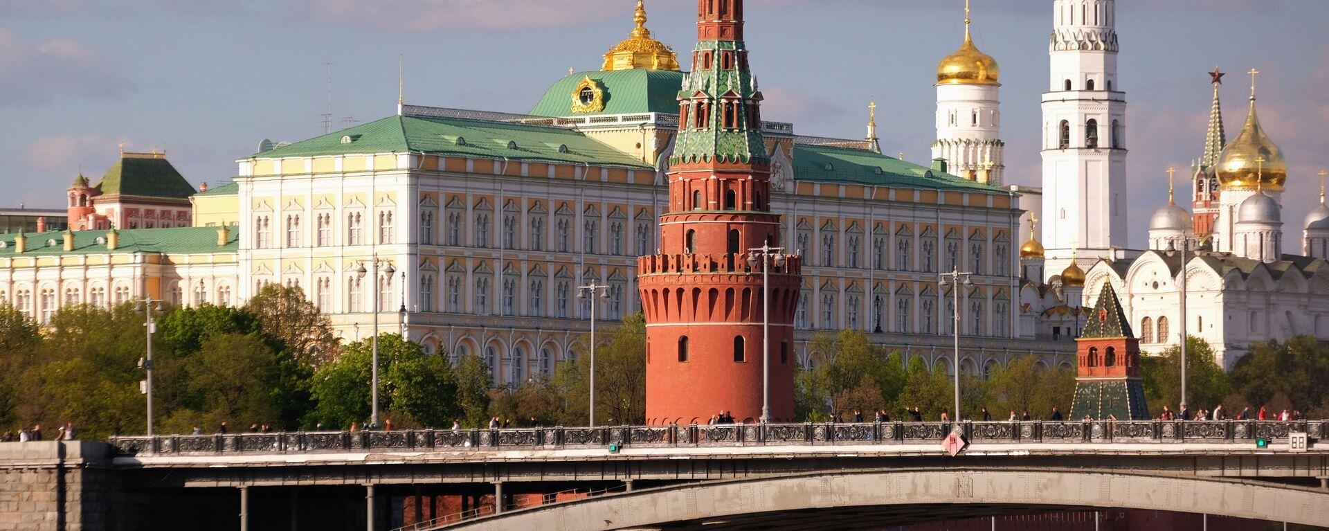Pohled na Moskevský Kreml - Sputnik Česká republika, 1920, 18.04.2021