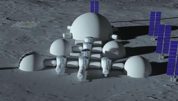 Ukrajina se chystá postavit město na Měsíci - Sputnik Česká republika
