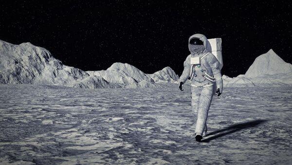 Astronaut na Měsíci - Sputnik Česká republika