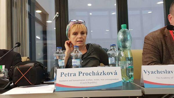 Petra Procházková na Mediálním fóru 2019 v Praze - Sputnik Česká republika