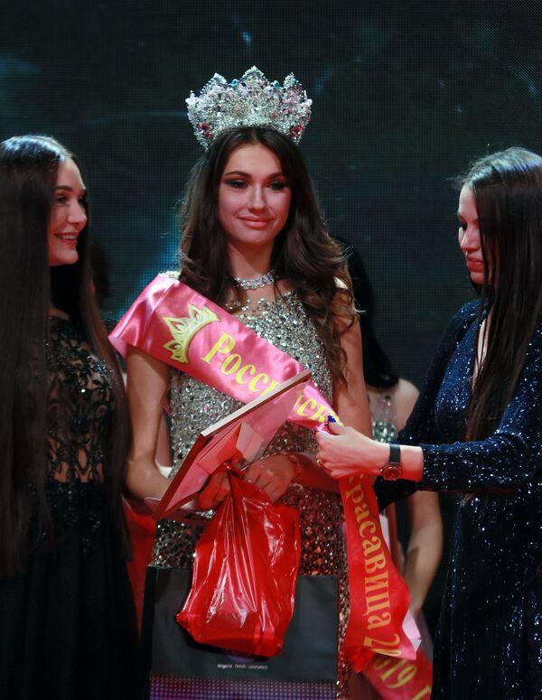 Alina Rudakovová – vítězka soutěže Ruská krása 2019  - Sputnik Česká republika