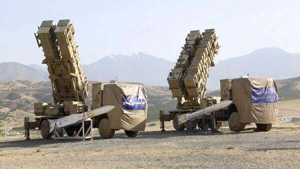 Íránská systéma protivzdušné obrany Khordad-15 - Sputnik Česká republika