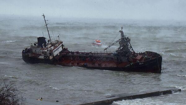 katastrofa tankeru Delfi  - Sputnik Česká republika