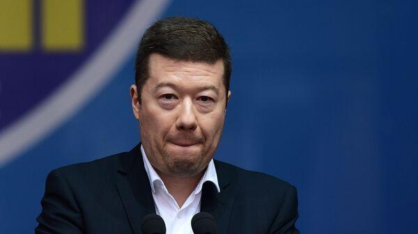 Lídr SPD Tomio Okamura - Sputnik Česká republika