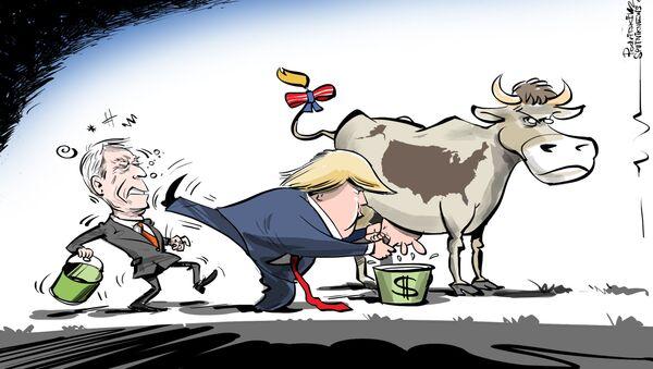 Další miliardář v čele USA? - Sputnik Česká republika