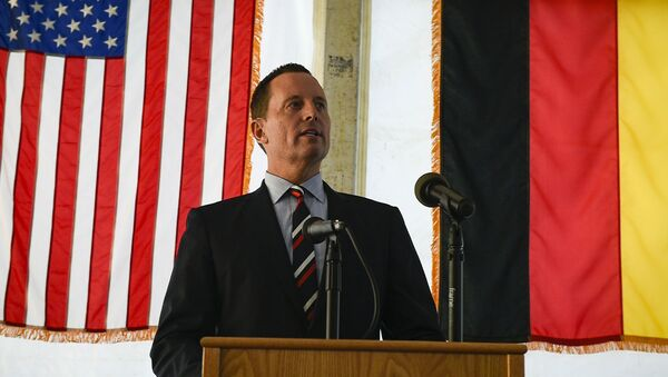 Americký velvyslanec v Německu Richard Grenell  - Sputnik Česká republika