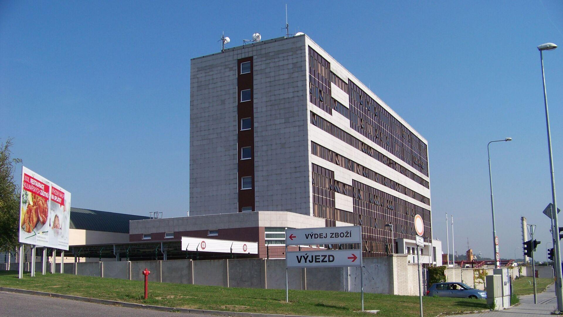 Budova BIS - Sputnik Česká republika, 1920, 22.08.2021