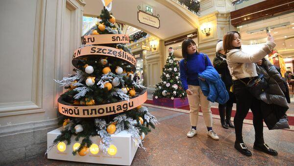 Kouzelný novoroční stromeček Sputniku v srdci Ruska hovoří až 33 jazyky. - Sputnik Česká republika