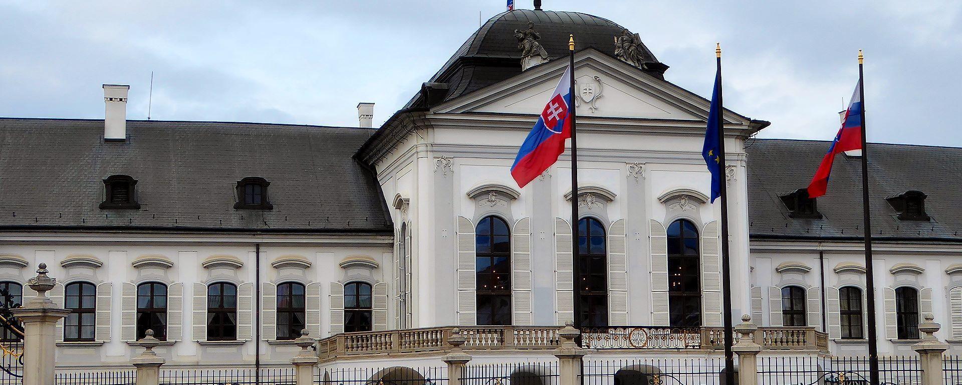 Prezidentský palác v Bratislavě - Sputnik Česká republika, 1920, 30.07.2021