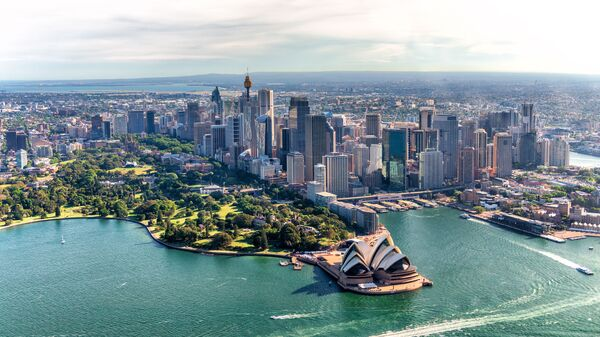 Вид на город Сидней, Австралия - Sputnik Česká republika