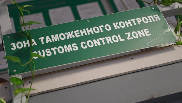 Celní zóna na letišti - Sputnik Česká republika