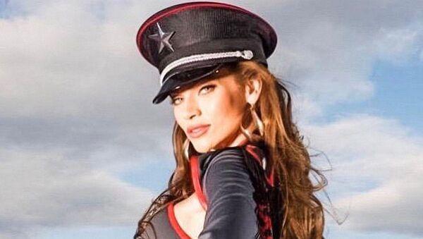 Modelka Andrea Verešová - Sputnik Česká republika