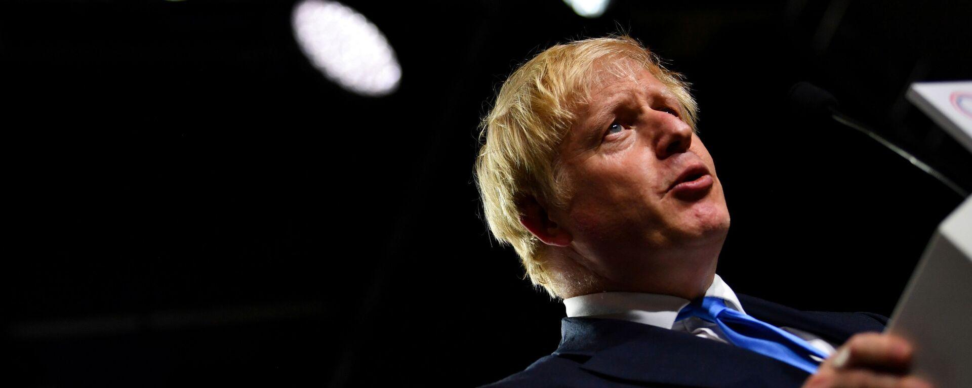 Britský premiér Boris Johnson - Sputnik Česká republika, 1920, 16.09.2021