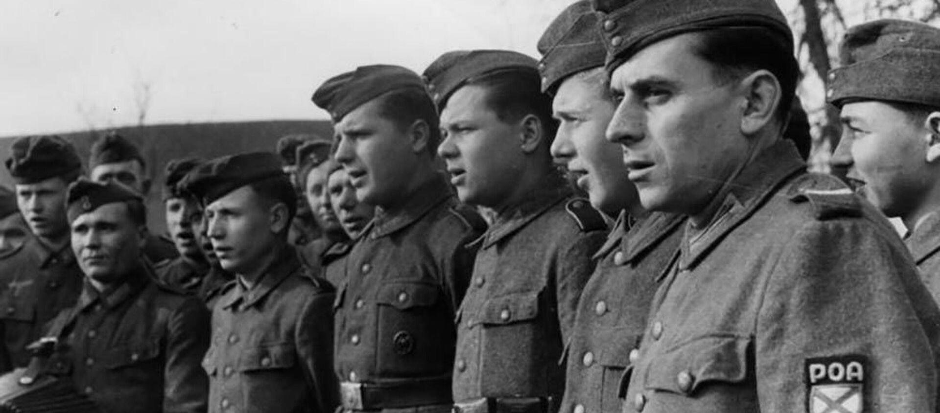 Vojáci Ruské osvobozenecké armády ROA  - Sputnik Česká republika, 1920, 19.05.2020