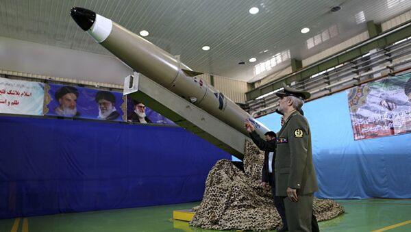 Prezentace nové íránské balistické rakety nové generace  - Sputnik Česká republika
