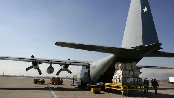 Chilské vojenské letadlo Hercules C-130 - Sputnik Česká republika