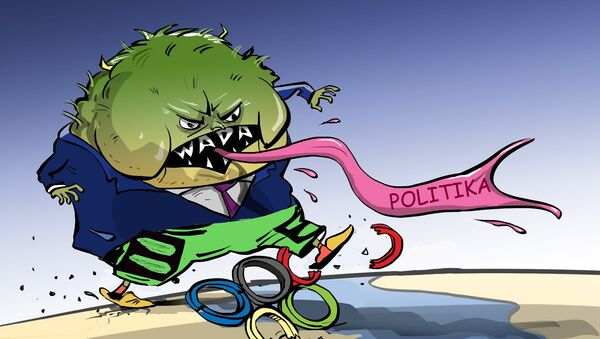 Zpolitizovaná WADA ničí sport - Sputnik Česká republika
