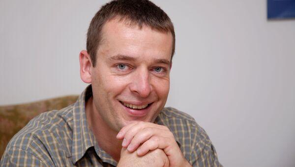 Spoluzakladatel a ředitel neziskové organizace Člověk v tísni Šimon Pánek  - Sputnik Česká republika