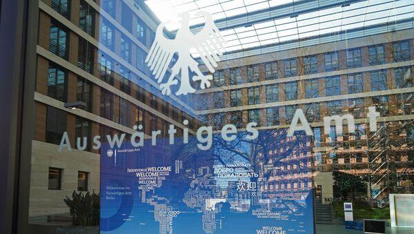 Ministerstvo zahraničních věcí Spolkové republiky Německo v Berlíně - Sputnik Česká republika