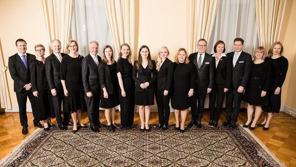 Nové složení finské vlády - Sputnik Česká republika
