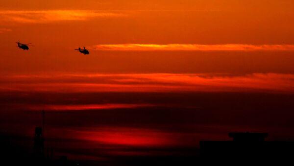 Americké vrtulníky UH-60M Black Hawk - Sputnik Česká republika