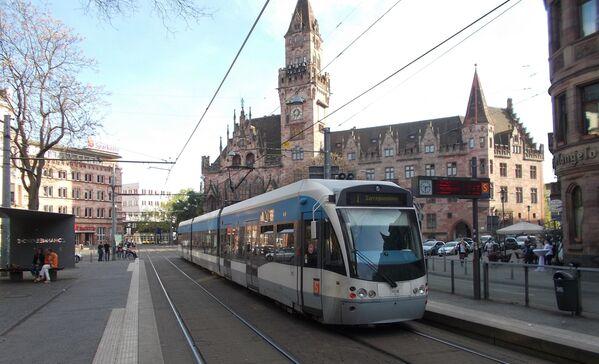 Tramvaj v německém městě Saarbrücken - Sputnik Česká republika