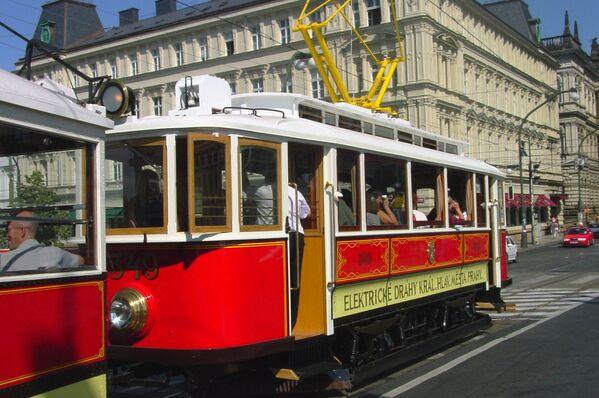 Starodávná tramvaj v Praze - Sputnik Česká republika