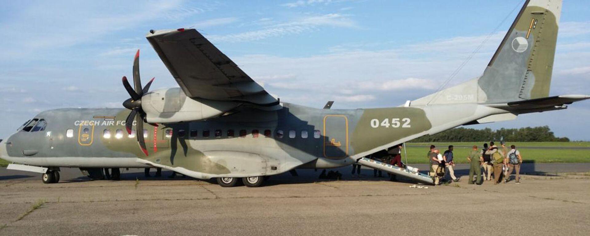Самолет армии Чешской Республики CASA C-295MW - Sputnik Česká republika, 1920, 15.08.2021