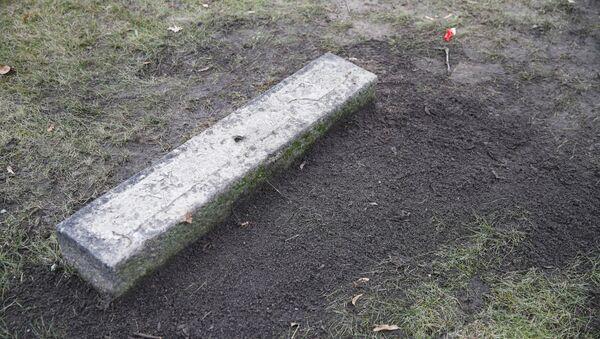 Hrob Reinharda Heydricha na německém Hřbitově invalidů. Ilustrační foto - Sputnik Česká republika