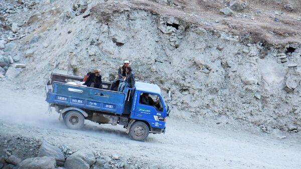 Hranice mezi Tádžikistánem a Afghánistánem - Sputnik Česká republika