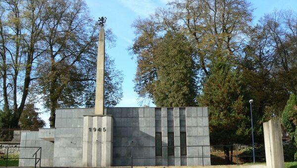 Památník Obětem válek v Benešově - Sputnik Česká republika