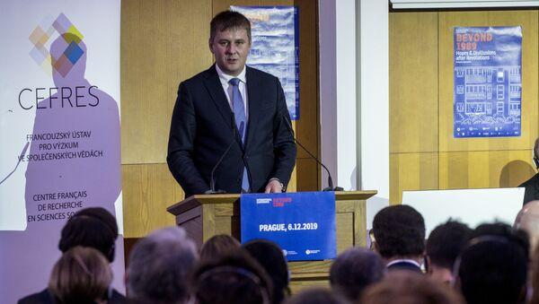 Ministr zahraničních věcí Tomáš Petříček  - Sputnik Česká republika