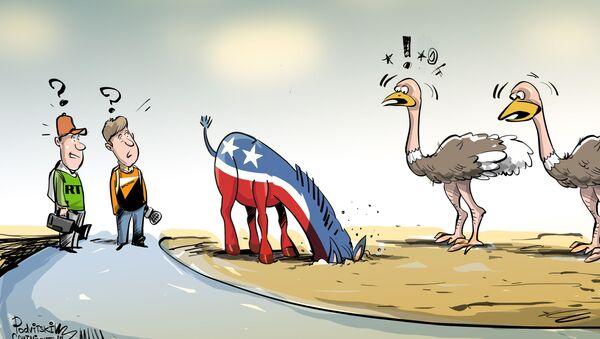 Demokraté před Sputnikem strčili hlavu do písku - Sputnik Česká republika