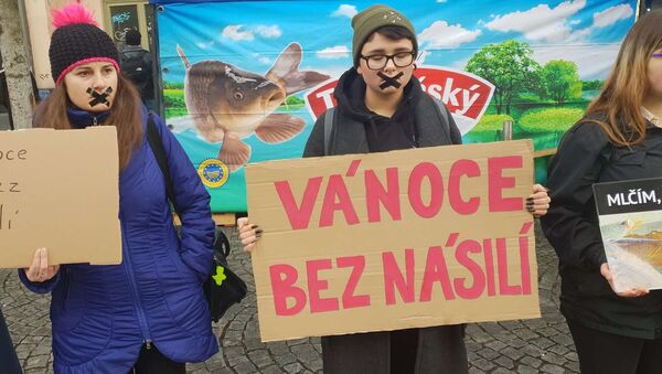Akce proti prodejcům kaprů - Sputnik Česká republika