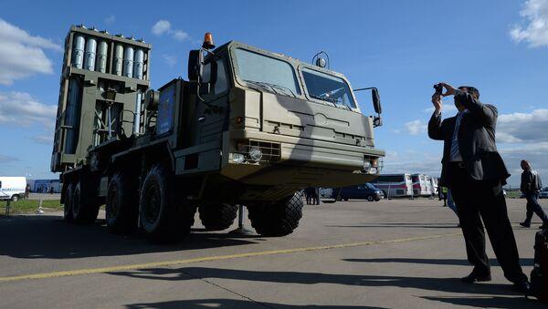 Raketový systém středního doletu S-350 Viťjaz - Sputnik Česká republika