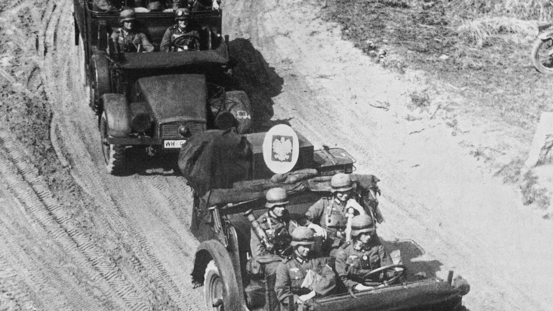 Německá vojska vtrhla na polské území, 1. září 1939 - Sputnik Česká republika, 1920, 01.09.2021