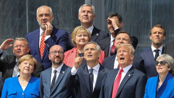 Lídři členských zemí NATO  - Sputnik Česká republika