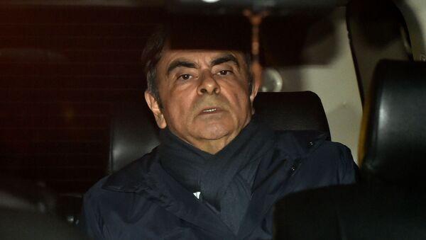 Bývalý ředitel koncernu Nissan Carlos Ghosn - Sputnik Česká republika