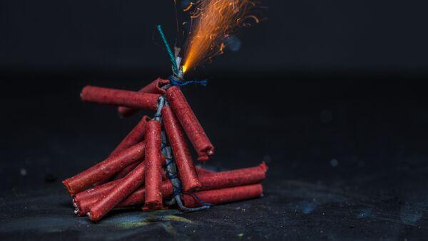 Zábavní pyrotechnika. Ilustrační foto - Sputnik Česká republika