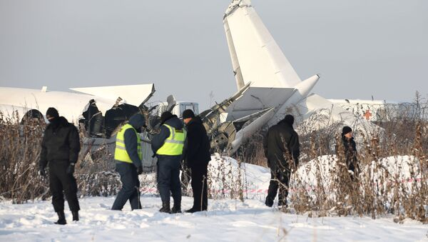 Havárie letadla v Almatě  - Sputnik Česká republika