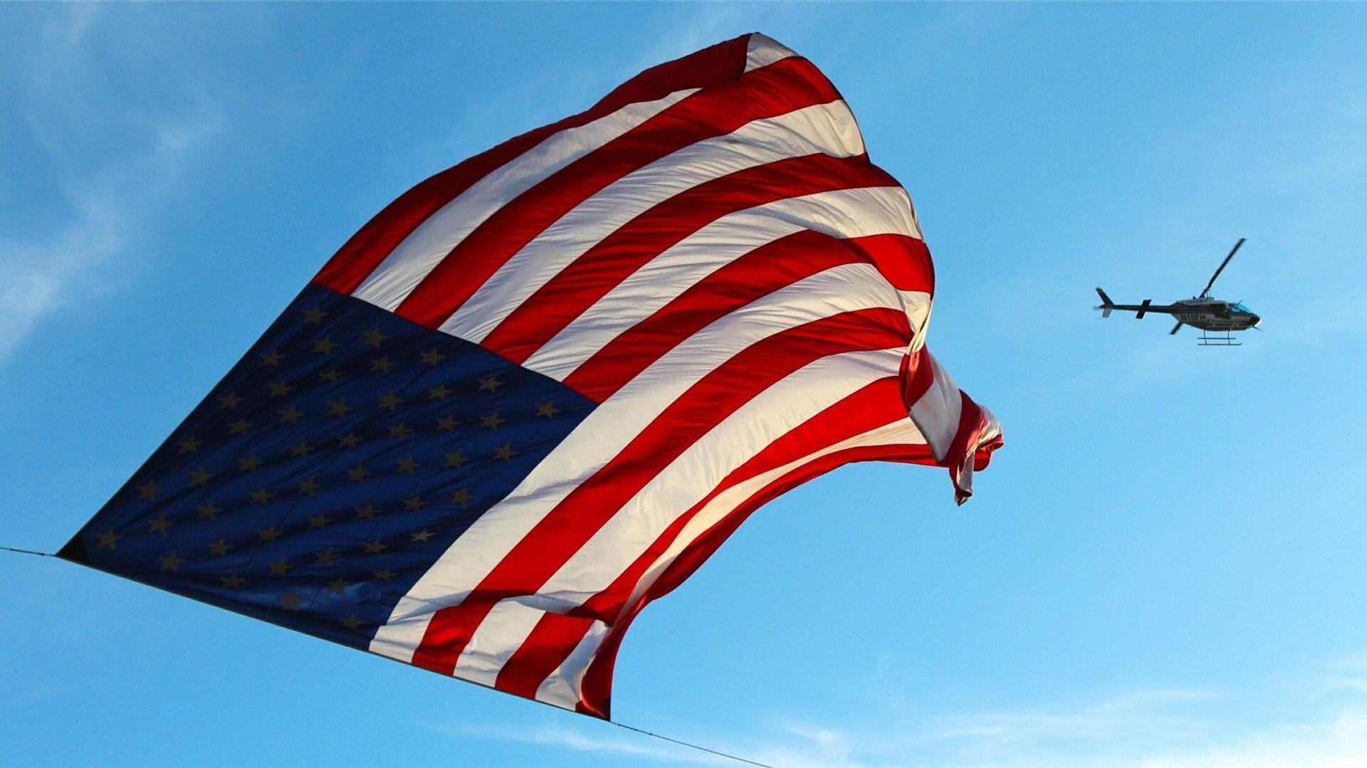 Vlajka Spojených států - Sputnik Česká republika, 1920, 21.09.2021