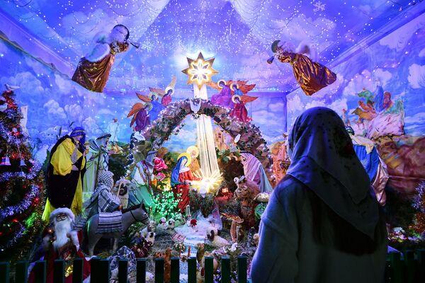 Vánoční bohoslužba  - Sputnik Česká republika