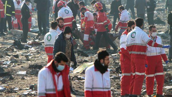 Katastrofa ukrajinského letadla Boeing 737-800 - Sputnik Česká republika
