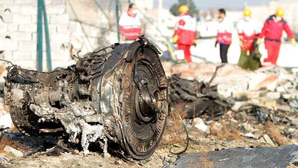 Havárie Boeingu 737-800 v Teheránu - Sputnik Česká republika