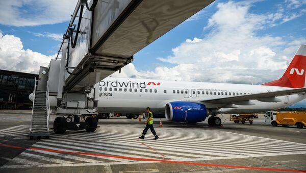 Letadlo Boeing 737 společnosti  Nordwind Airlines - Sputnik Česká republika
