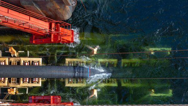 Pokládka plynových trubek pro Nord Stream 2 - Sputnik Česká republika